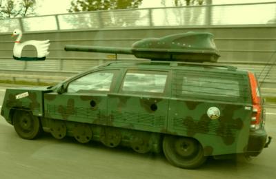 Na Wojenkę - Volvo