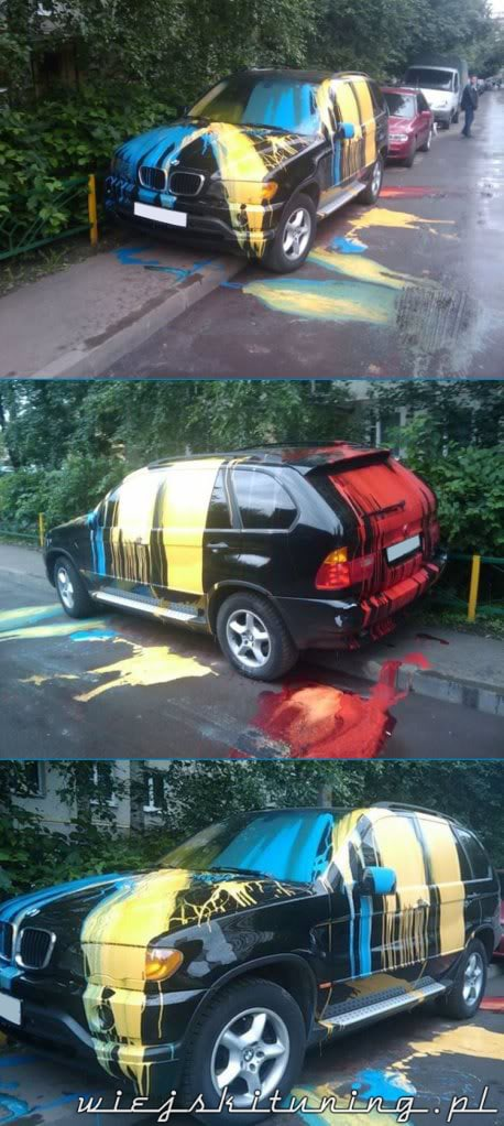 BMW X5 Art Car