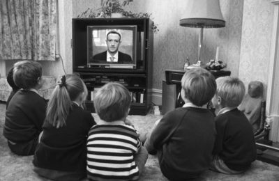 Kids watching mark zuckerberg