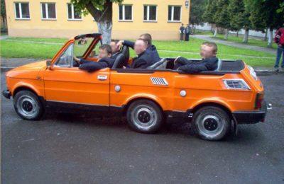Książęta Poboczy Fiat 126p Cabrio Tuning