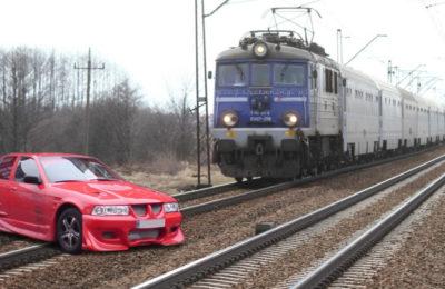 czerwony dreswagon bmw e36 tuning WT