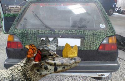 lowca krokodyli vw golf 2 tuning