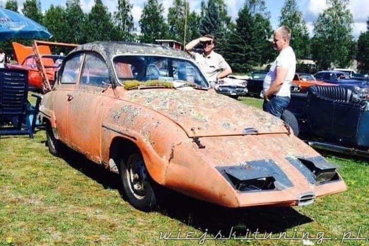 saab 96 orange tuning 1